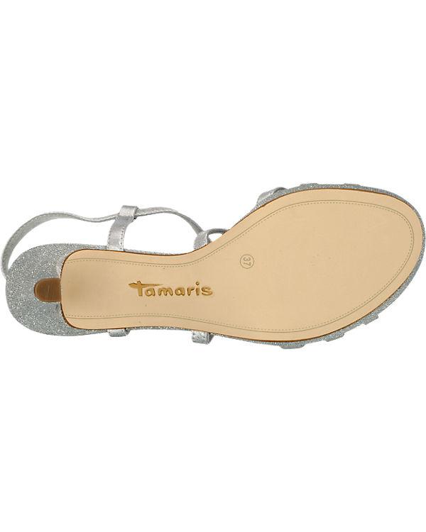 Tamaris Paduli Sandaletten silber