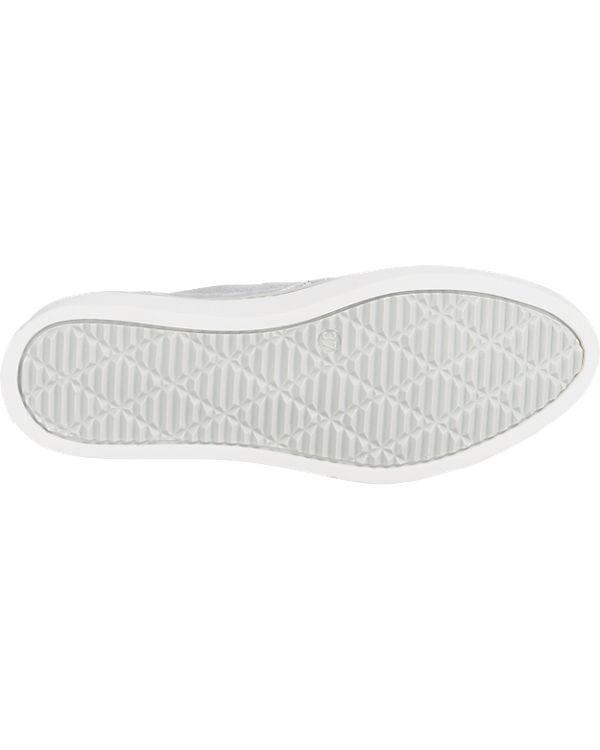 Tine's Slipper grau-kombi