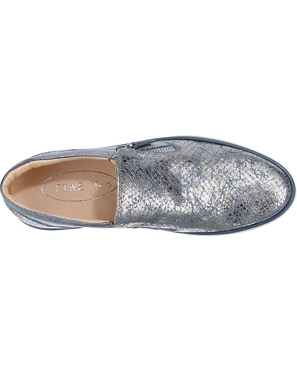 Tine's Slipper blau