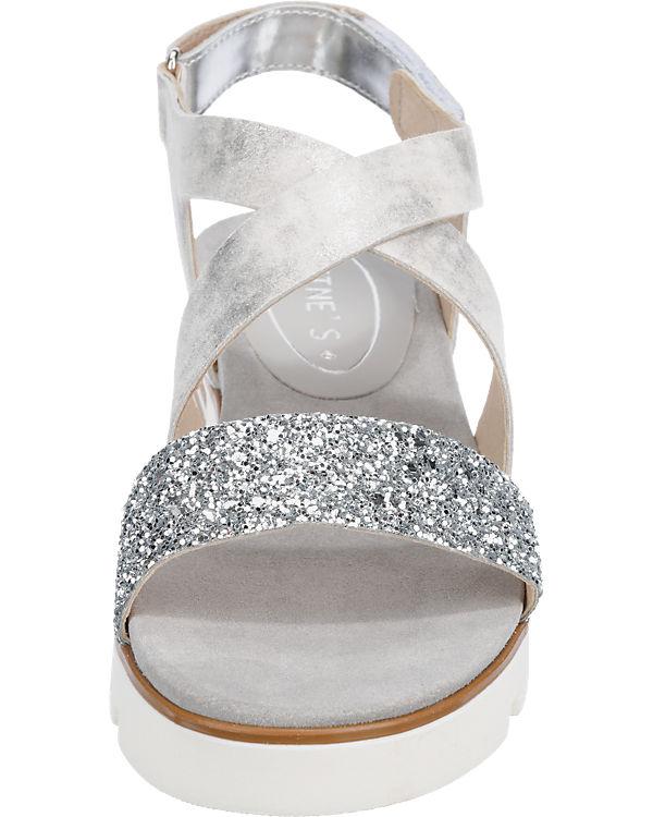 Tine's Sandaletten silber