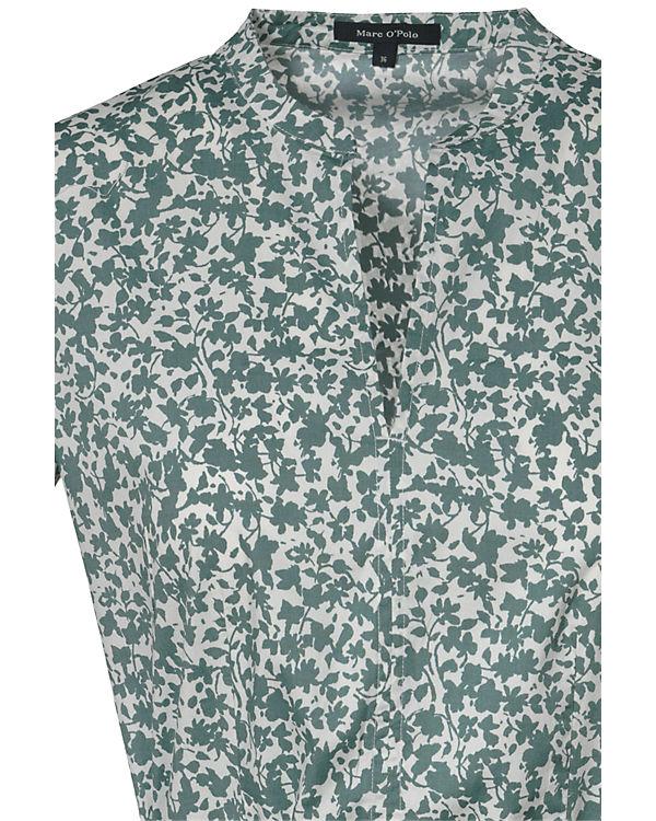 Marc O'Polo Blusenkleid grün
