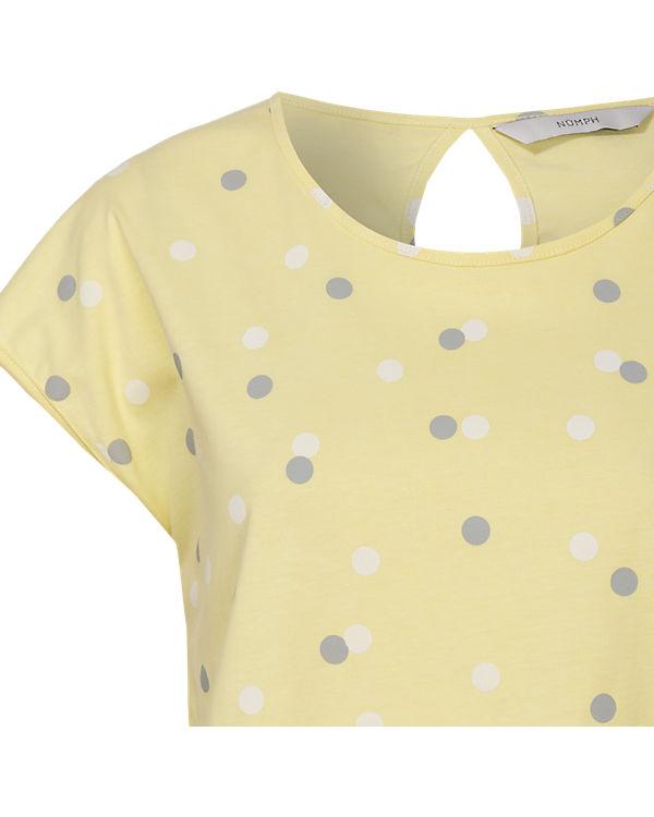 nümph T-Shirt gelb-kombi