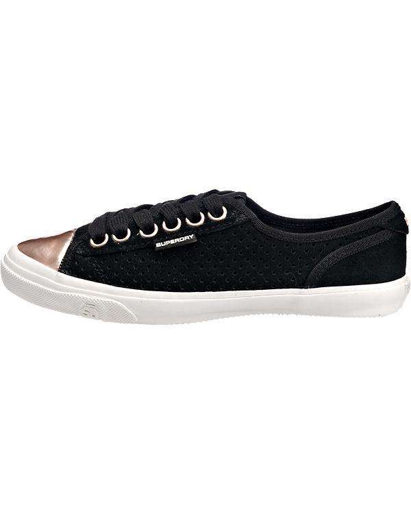 Superdry Low Pro Luxe Sneakers schwarz-kombi