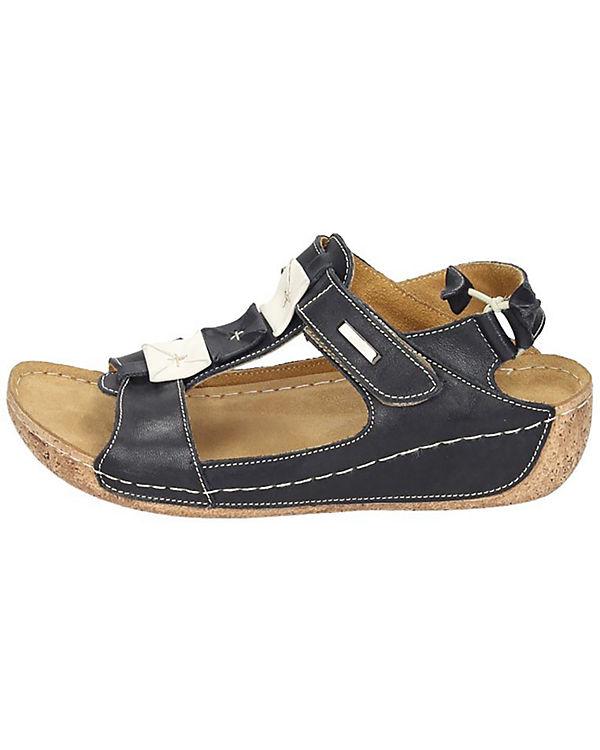 Manitu Sandalen schwarz