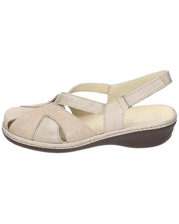 Comfortabel Sandalen beige