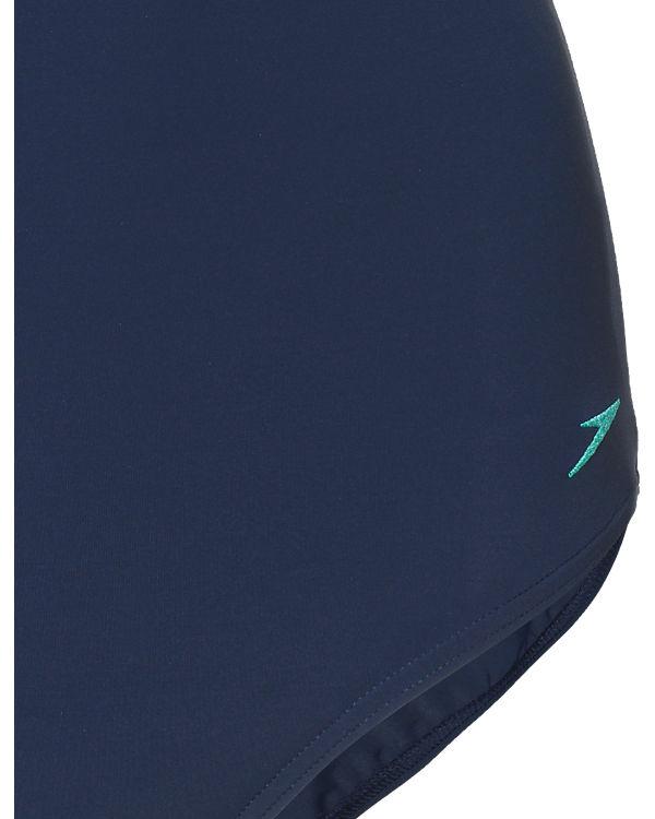 speedo Badeanzug blau
