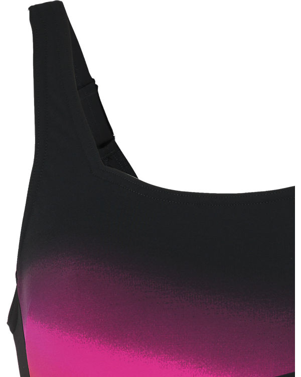 speedo Badeanzug schwarz-kombi