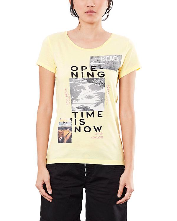 Q/S T-Shirt gelb