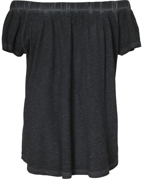 Q/S Carmenshirt schwarz