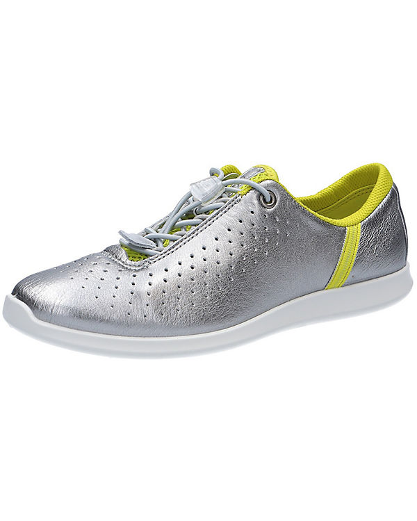ecco Sneakers silber