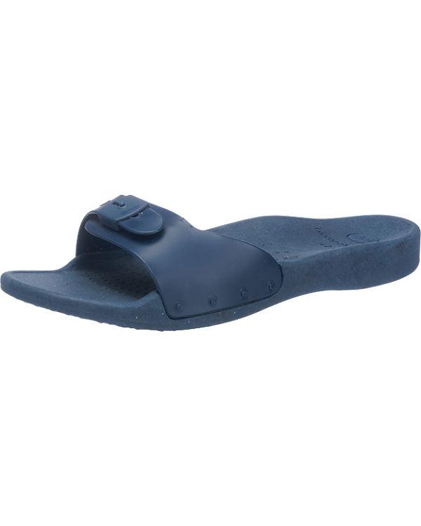 Scholl Sun Pantoletten blau
