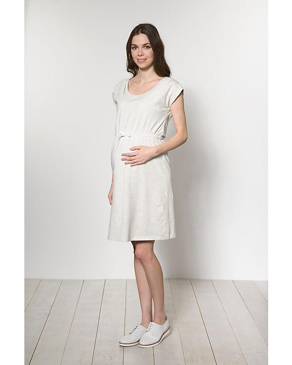 mamalicious Stillkleid MLNEW PERI NELL, Organic Cotton grau