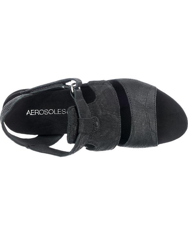 Aerosoles Sandaletten schwarz
