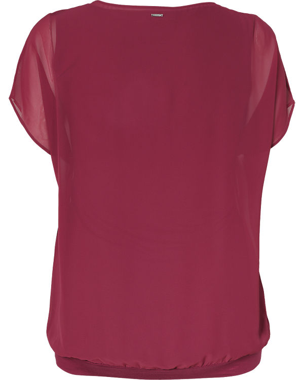 TRIANGLE Bluse rot