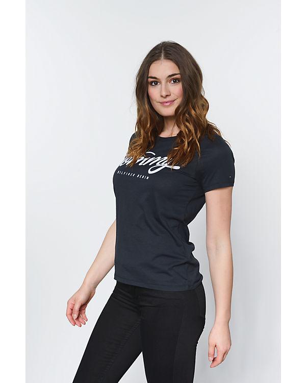 HILFIGER DENIM T-Shirt schwarz