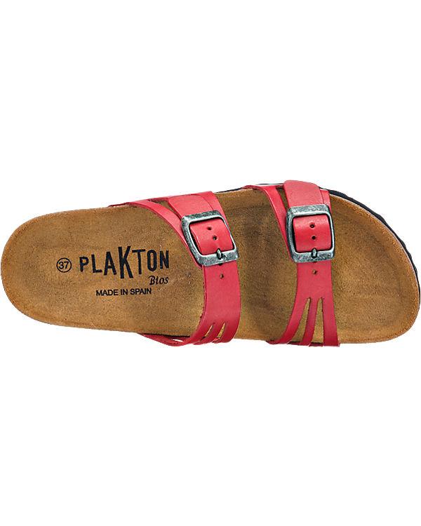 Plakton Sandalen rot