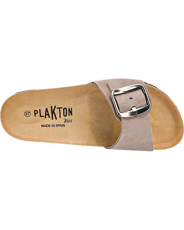 Plakton Sandalen grau