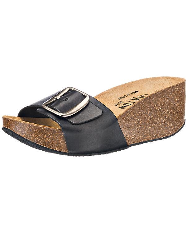 Plakton Sandalen schwarz
