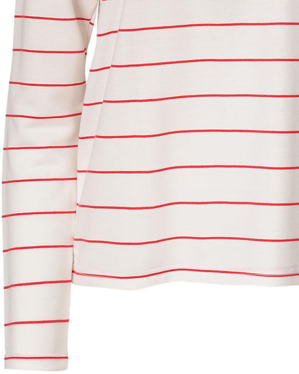 VERO MODA Sweatshirt rot/weiß