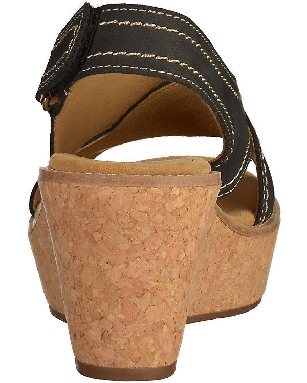 Clarks Sandaletten schwarz