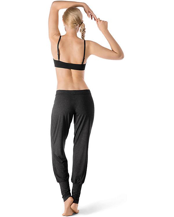 Skiny Hose Yoga & Relax grau