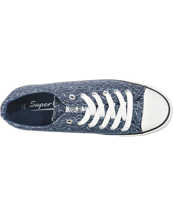 SuperCracks Sneakers dunkelblau