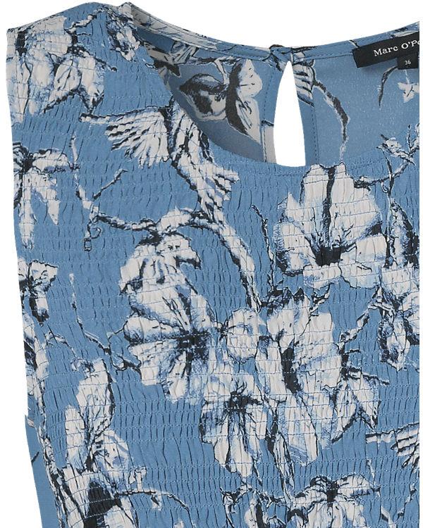Marc O'Polo Blusenkleid blau