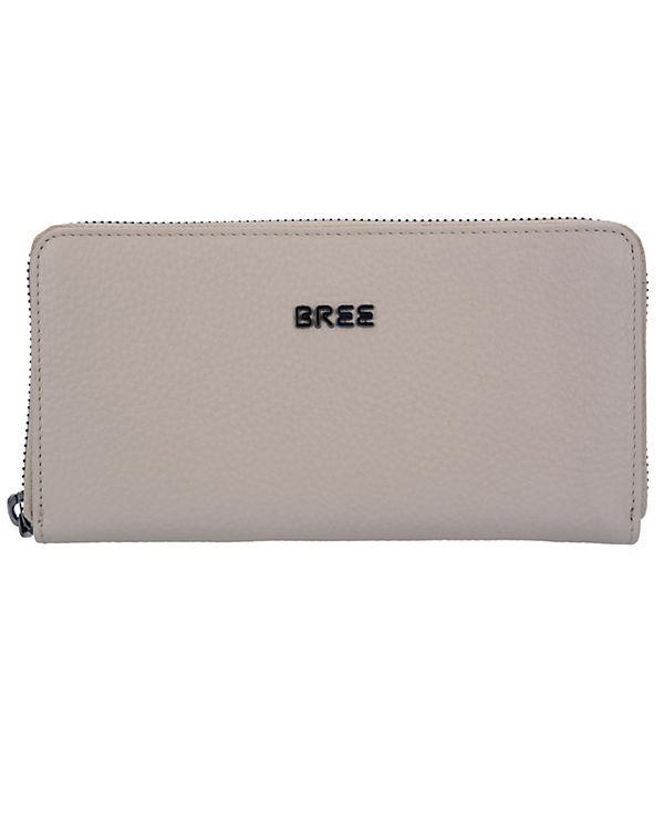 Bree Nola 101 Geldbörse Leder 20 cm beige