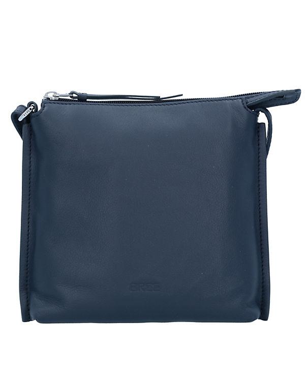 Bree Toulouse 1 Umhängetasche Leder 19 cm blau