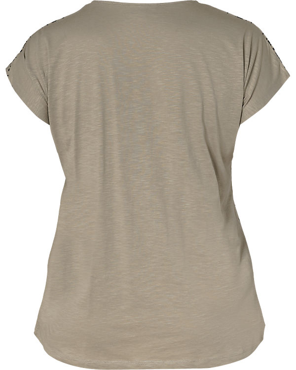 Zizzi T-Shirt grau