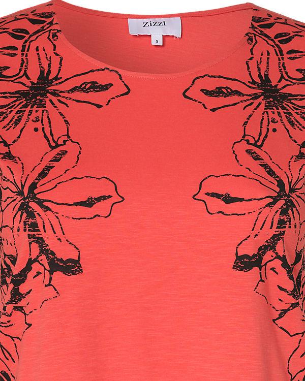 Zizzi T-Shirt koralle