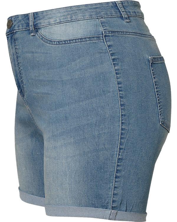 JUNAROSE Jeansshorts blue denim
