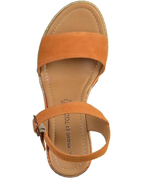 MARCO TOZZI Sandaletten braun