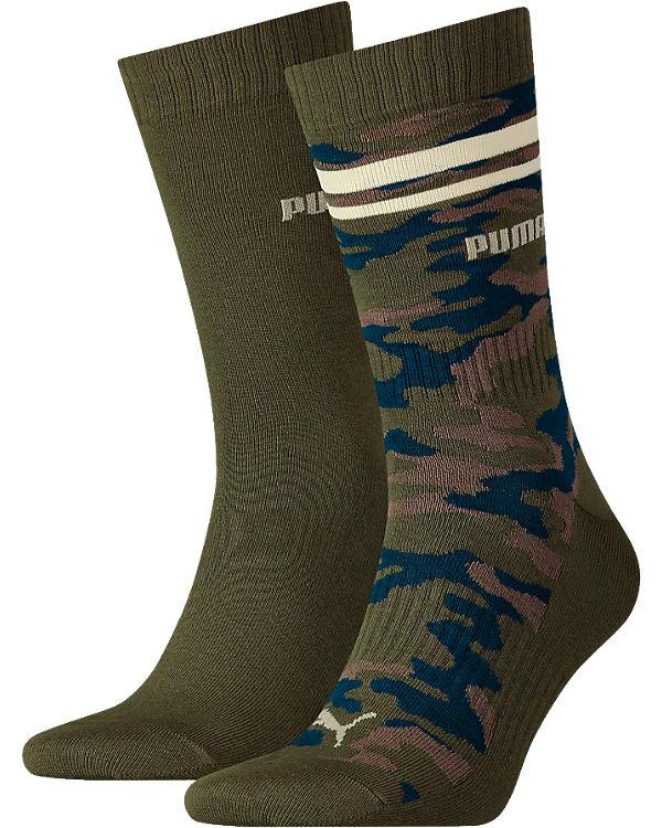 PUMA 2 Paar Socken mehrfarbig