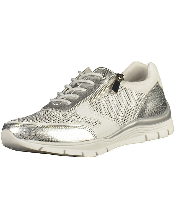 MARCO TOZZI Sneakers silber