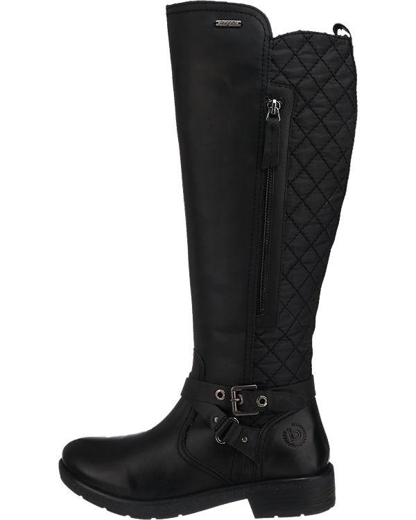 bugatti Stiefel schwarz