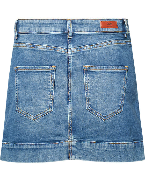 Q/S Jeansrock blue denim