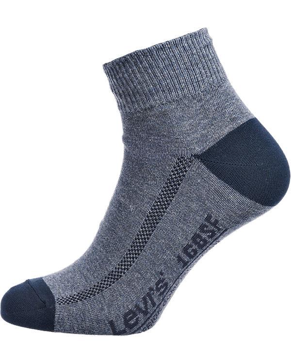 Levi's® 2 Paar Sneaker Socken blau