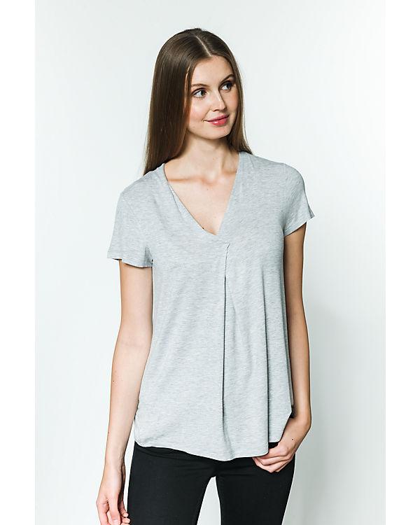 fransa T-Shirt grau