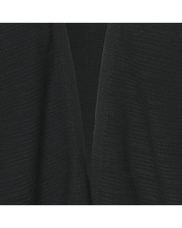 ESPRIT Strickjacke schwarz