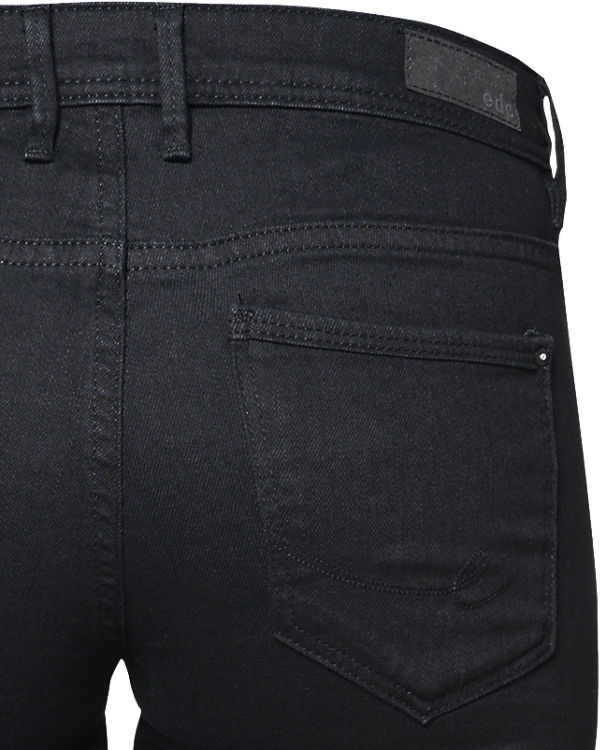 edc by ESPRIT Jeans Straight Low Rise schwarz