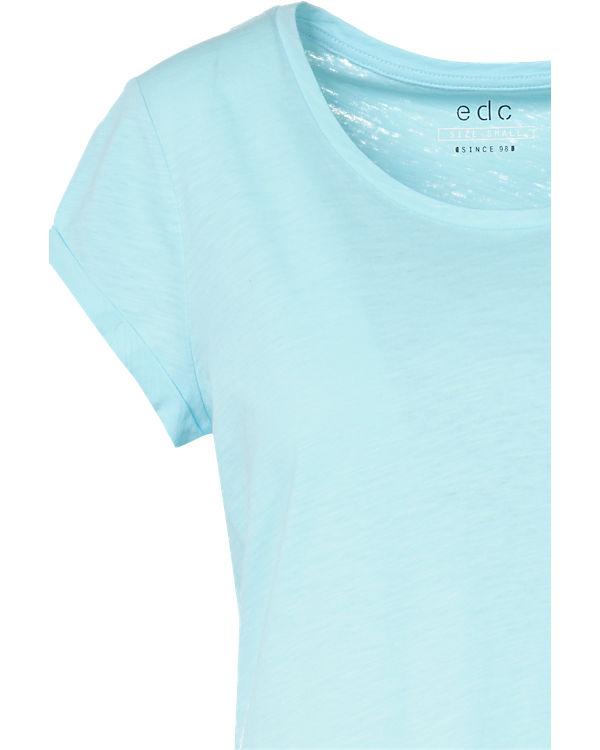edc by ESPRIT T-Shirt türkis