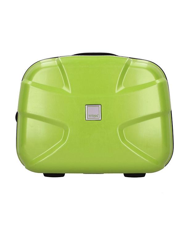 Titan X2 Beautycase 38 cm grün