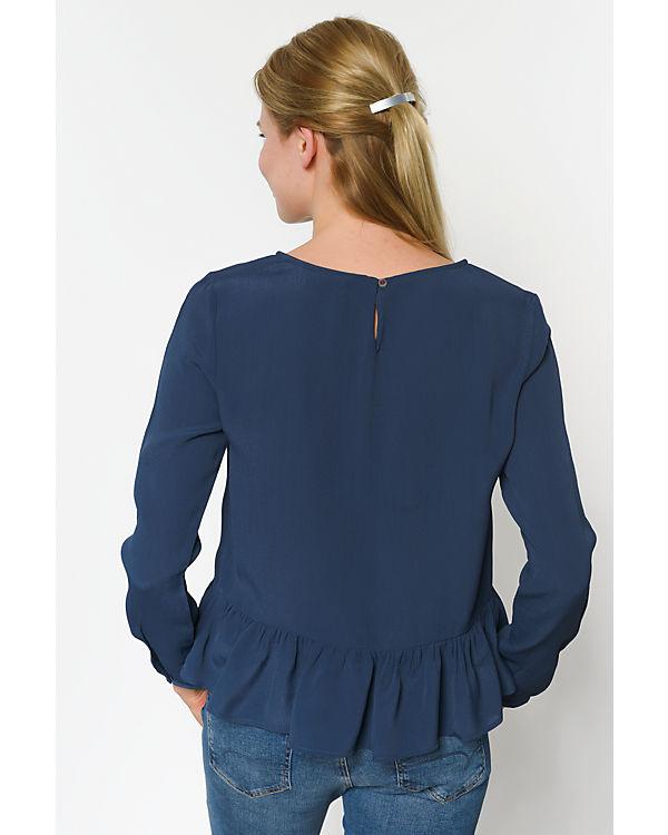 HILFIGER DENIM Bluse blau
