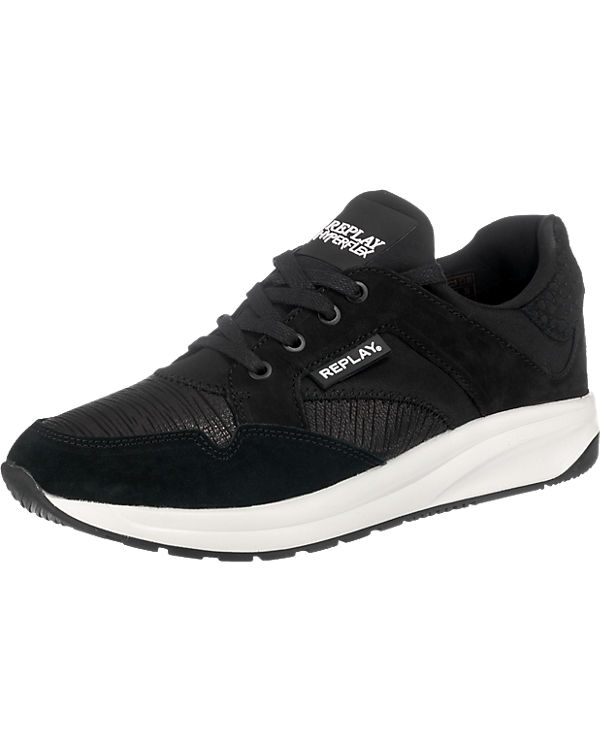 REPLAY Freis Sneakers schwarz