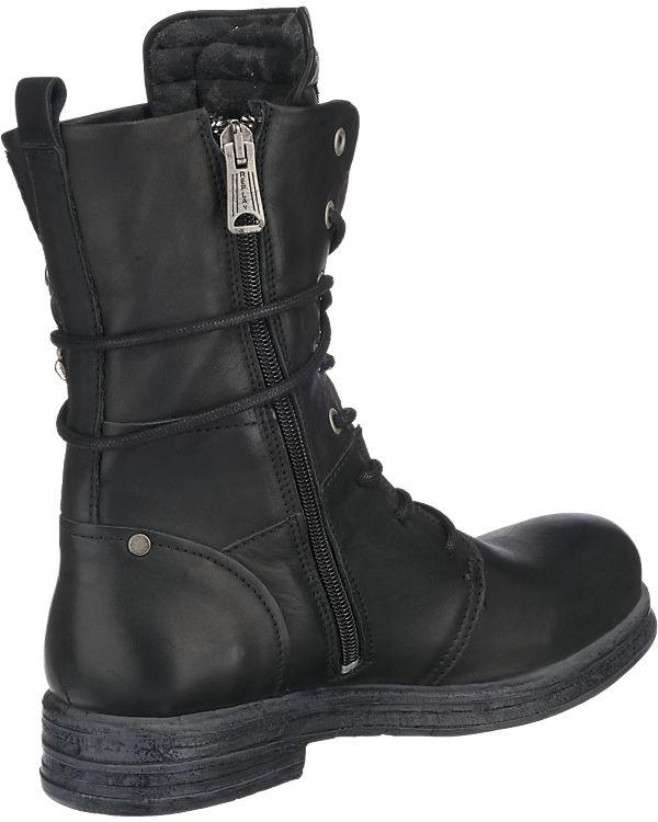 REPLAY Cletic Stiefel schwarz