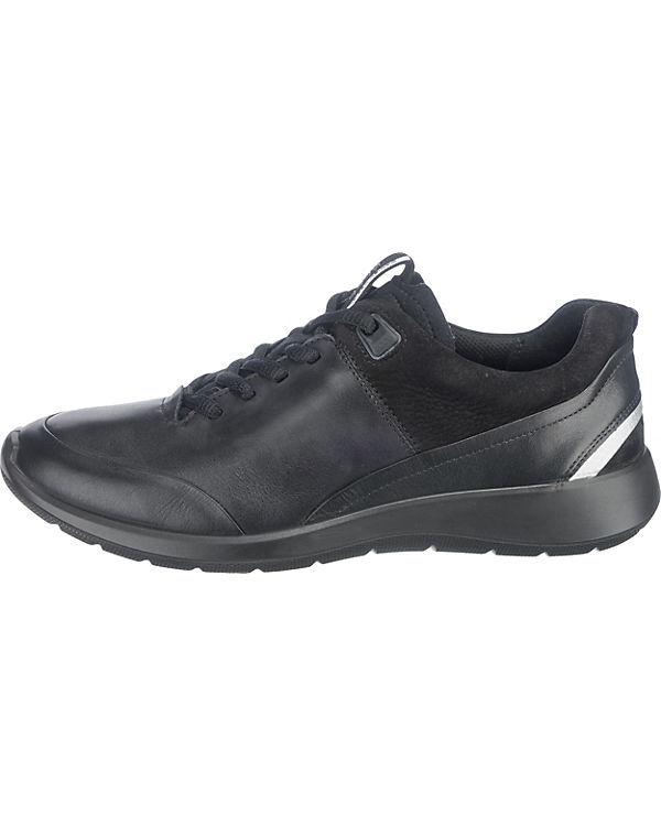 ecco Soft 5 Sneakers schwarz