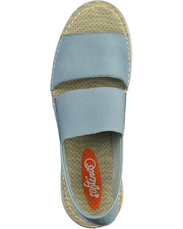 softinos Sandaletten hellblau