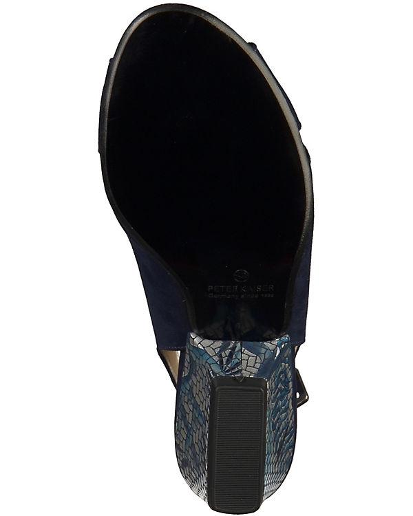 PETER KAISER Sandaletten dunkelblau