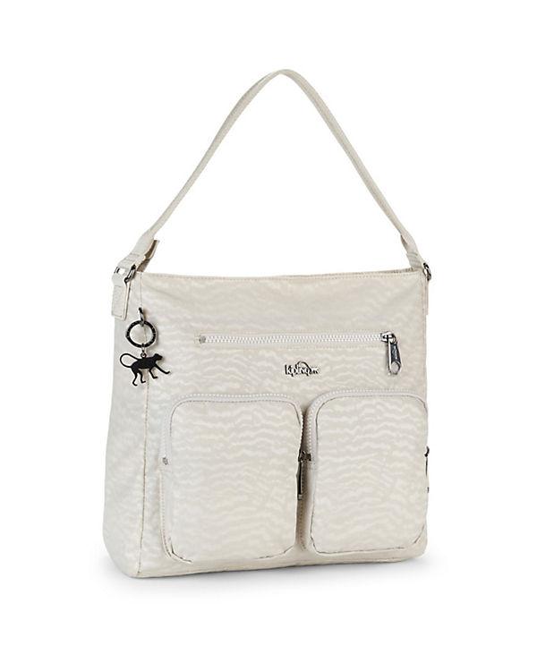 Kipling Basic Plus Tasmo BP 17 Handtasche 28 cm weiß
